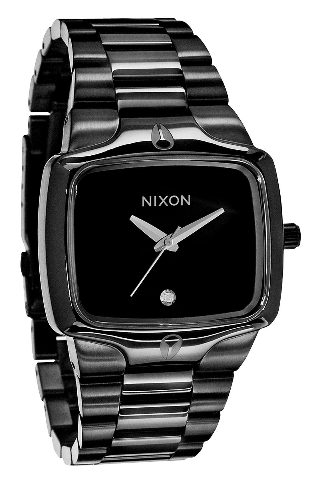 Alternate Image 1 Selected - Nixon 'The Player' Bracelet Watch, 40mm