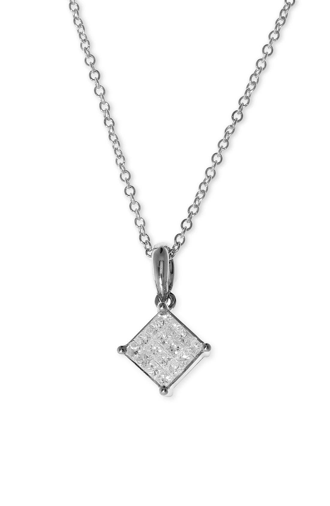 Main Image - Bony Levy Diamond Necklace (Nordstrom Exclusive)