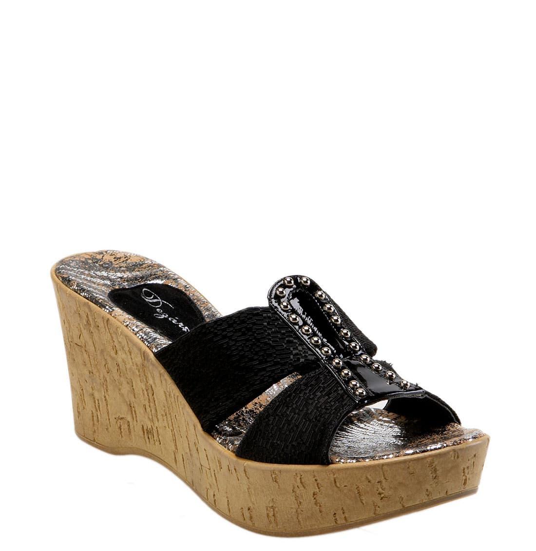 Alternate Image 1 Selected - Dezario 'Nanor' Wedge Sandal