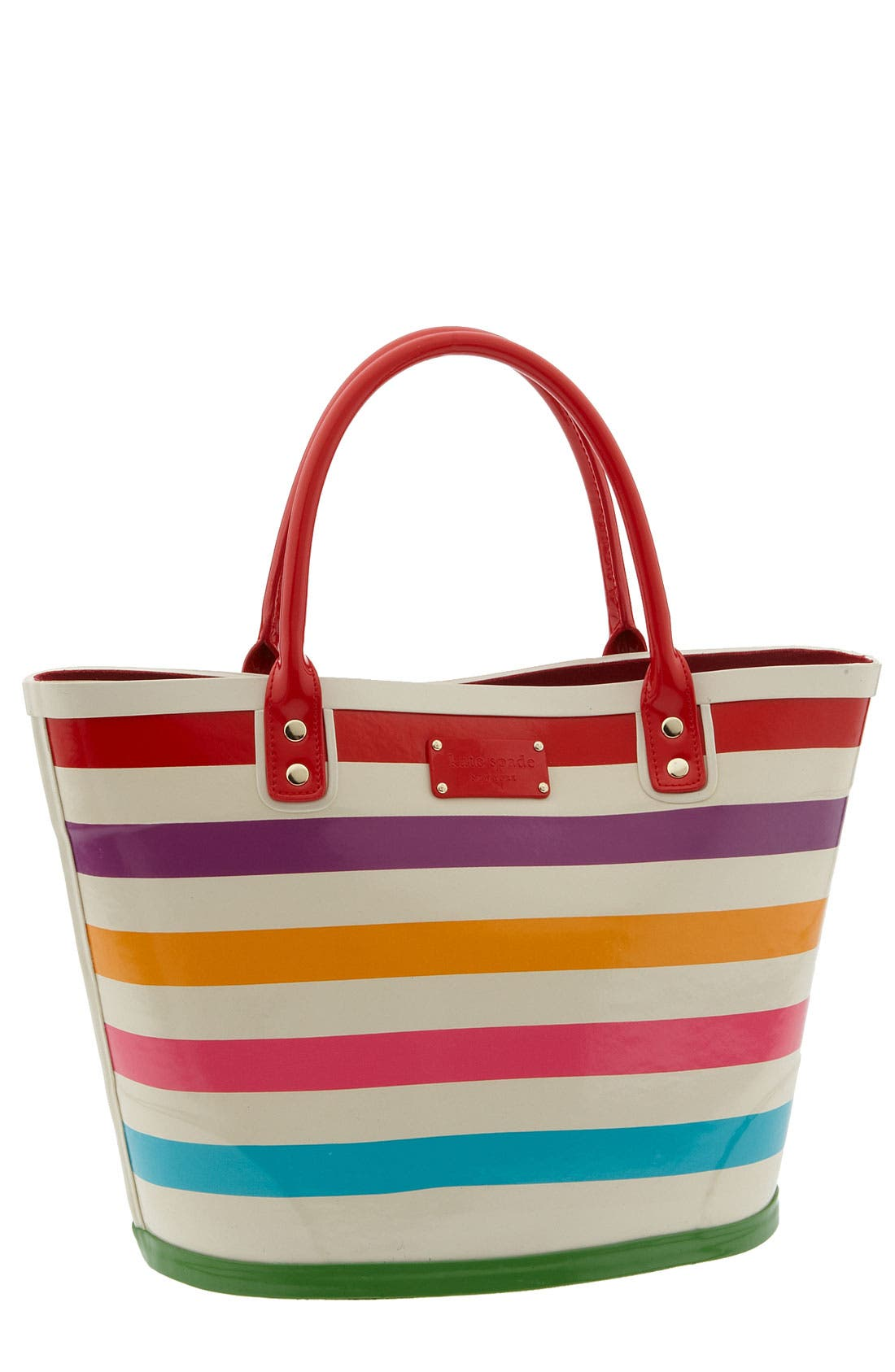 Alternate Image 1 Selected - kate spade 'wellie magee' rubber tote
