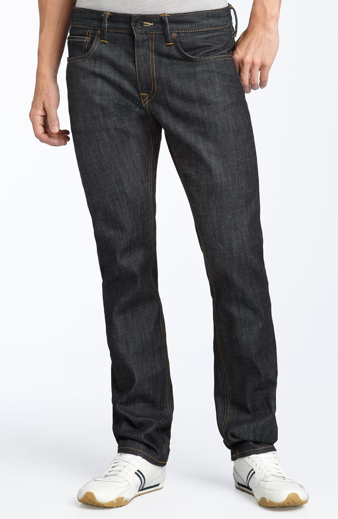 Alternate Image 2  - Levi's® Red Tab™ 'Matchstick' Skinny Jeans (Stretch Rigid)