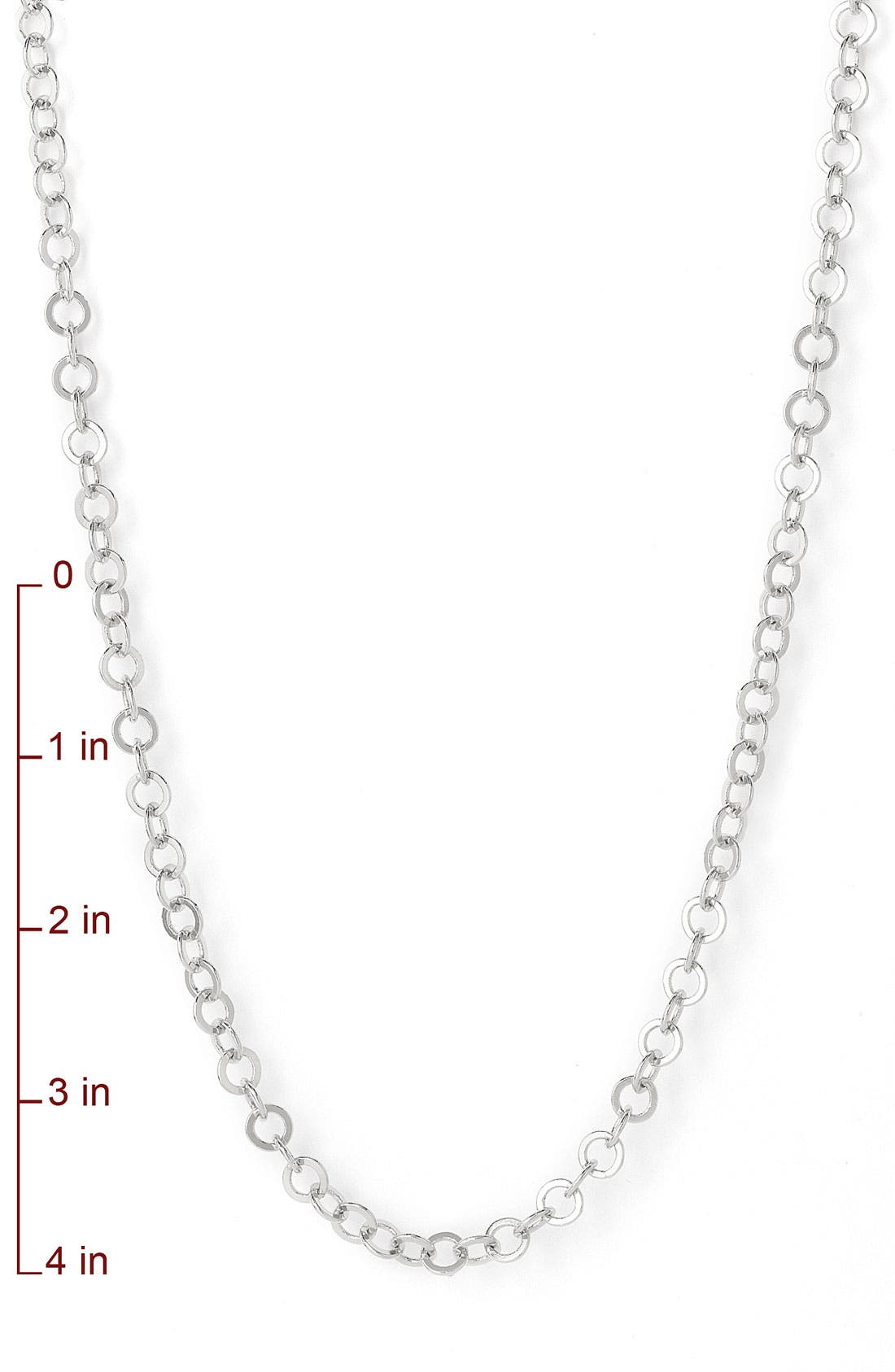 Alternate Image 3  - Nordstrom Interlocking Circles Long Strand Necklace