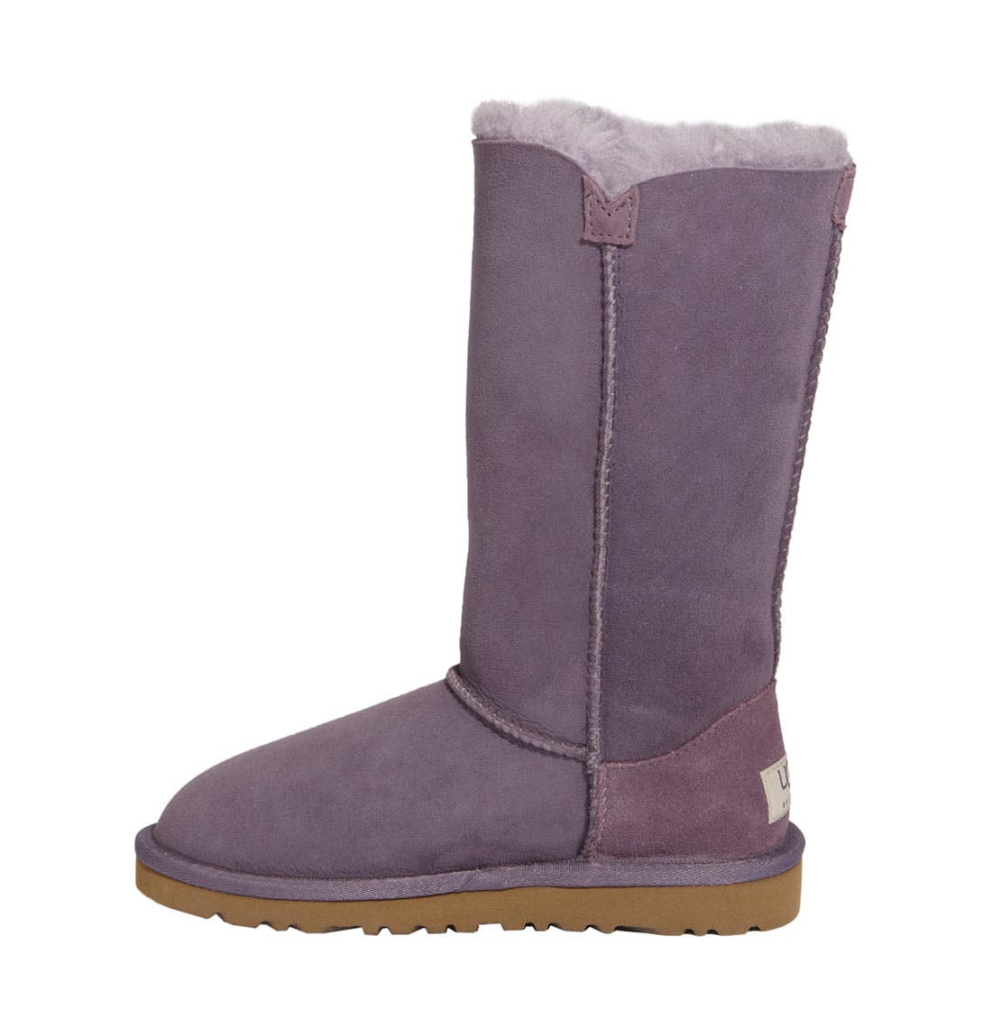 Alternate Image 5  - UGG® 'Bailey Button Triplet' Boot (Little Kid & Big Kid)