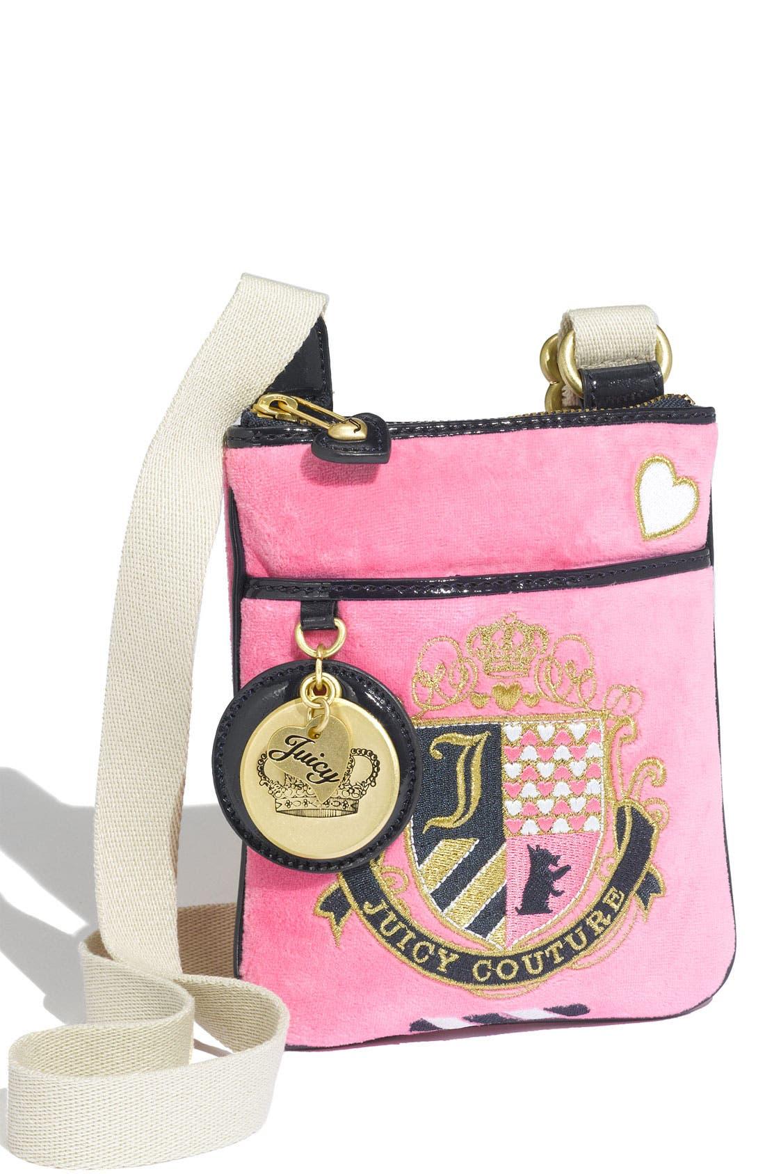 Main Image - Juicy Couture Crossbody Bag (Girls)