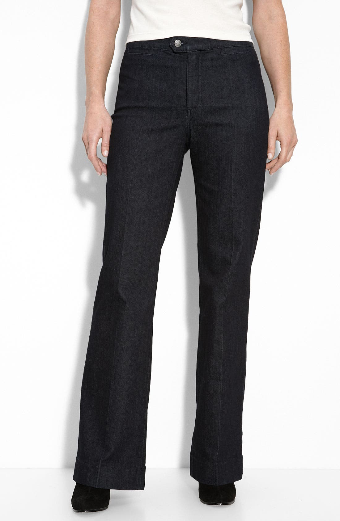 Alternate Image 1 Selected - Not Your Daughter's Jeans® 'Wendy' Denim Trousers (Petite)