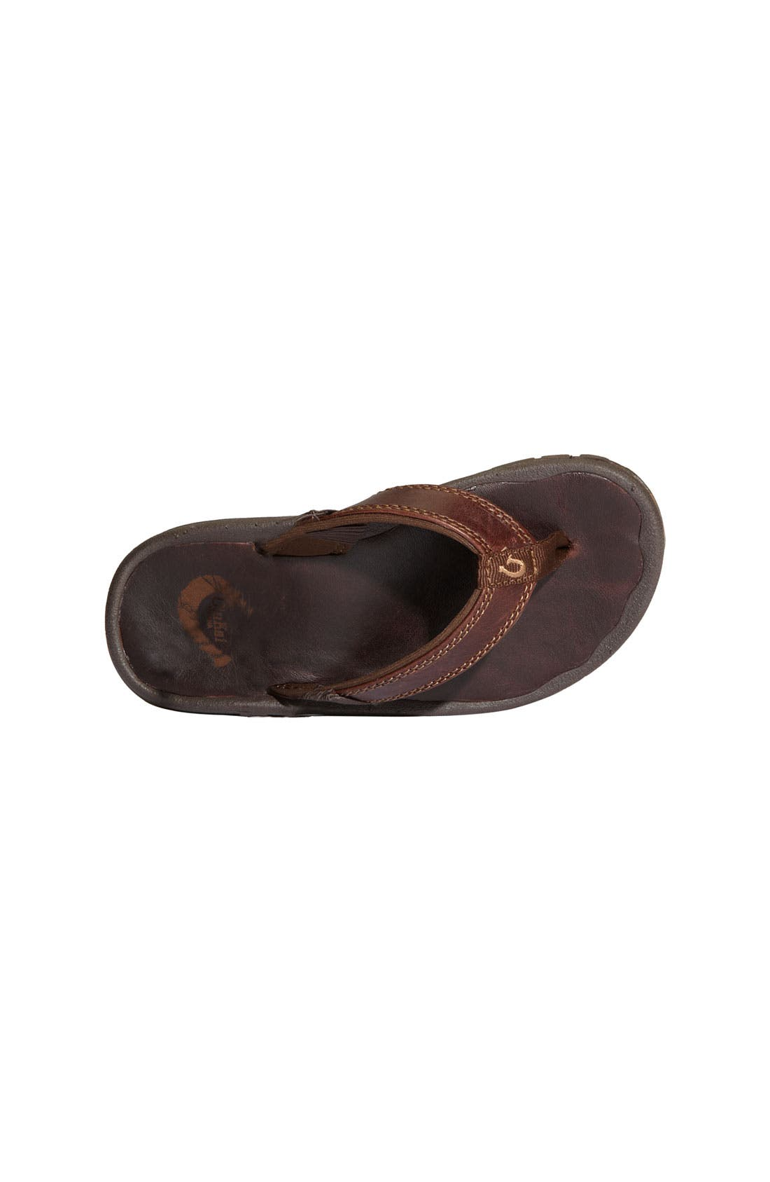 Alternate Image 3  - OluKai 'Ohana' Leather Sandal (Toddler, Little Kid & Big Kid)