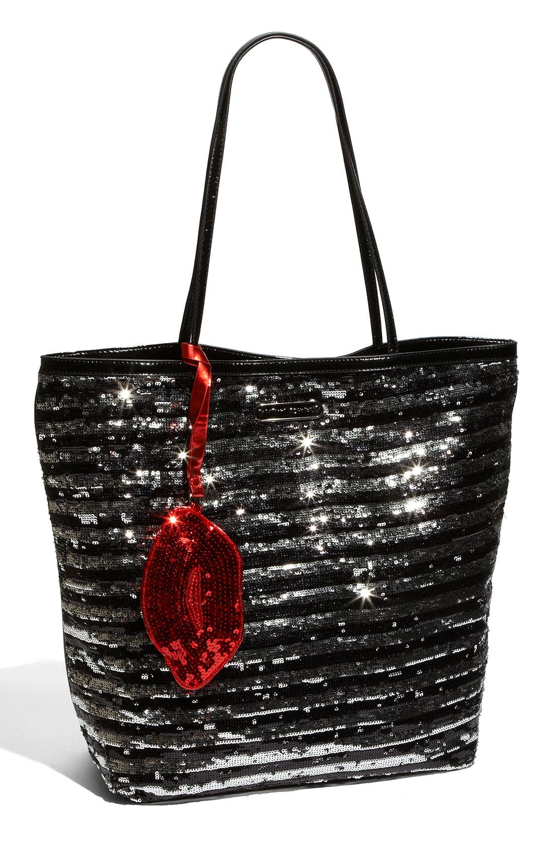 Main Image - Betsey Johnson 'Glitzed - Medium' Sequined Shopper