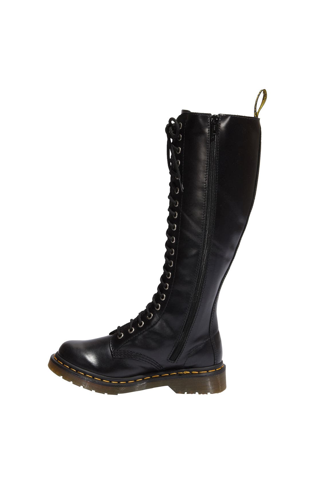 Alternate Image 2  - Dr. Martens '1B60 20 Eye Zip' Boot (Women)