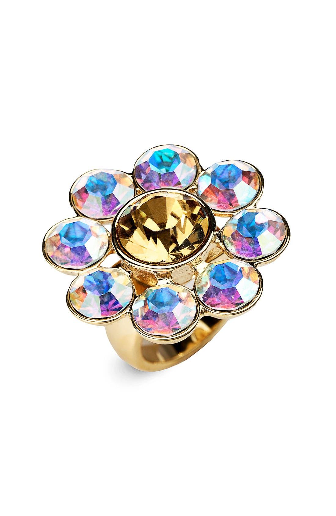Main Image - kate spade new york 'trellis' crystal ring