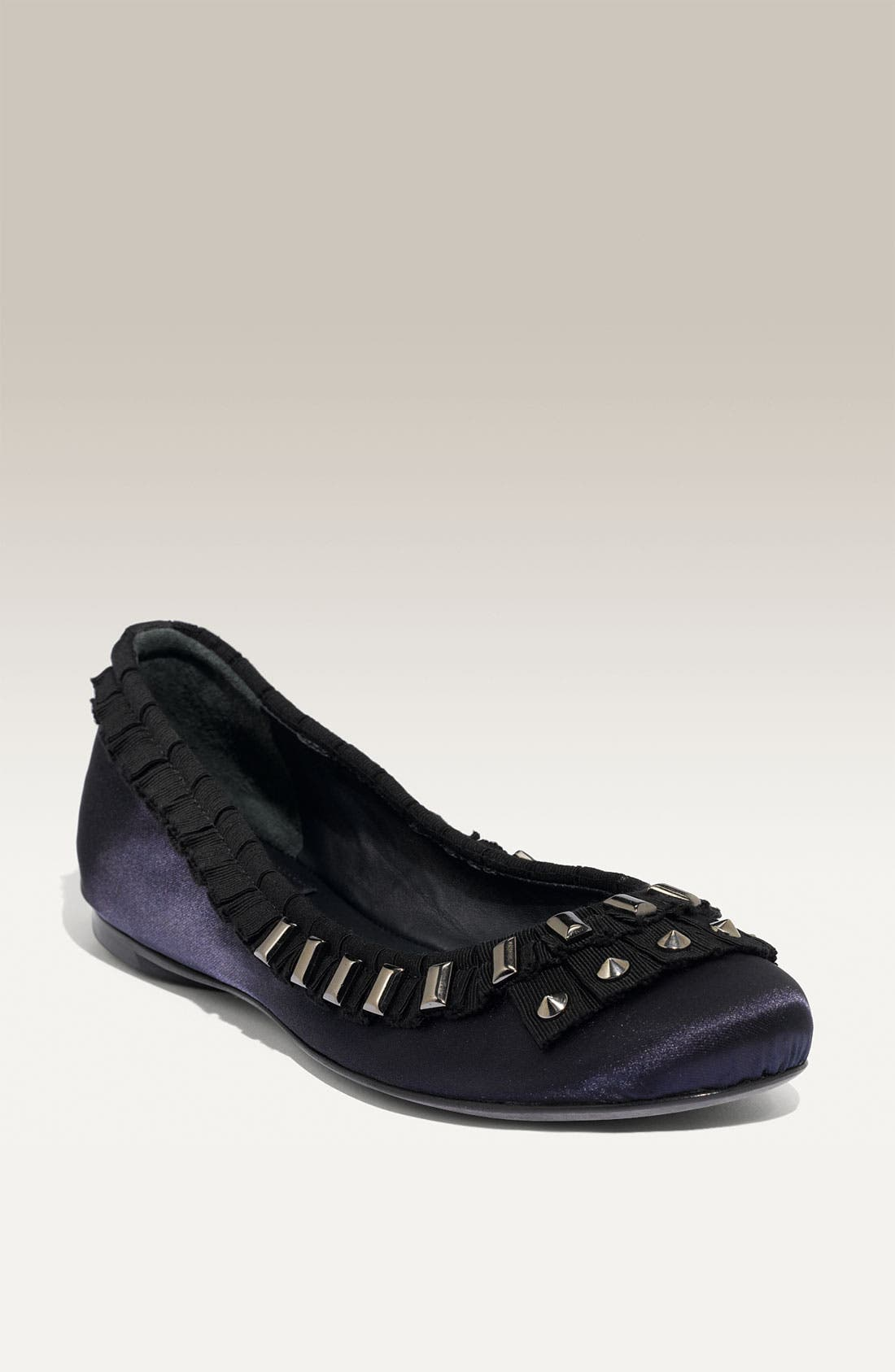 Alternate Image 1 Selected - Tory Burch 'Courtney' Satin Flat