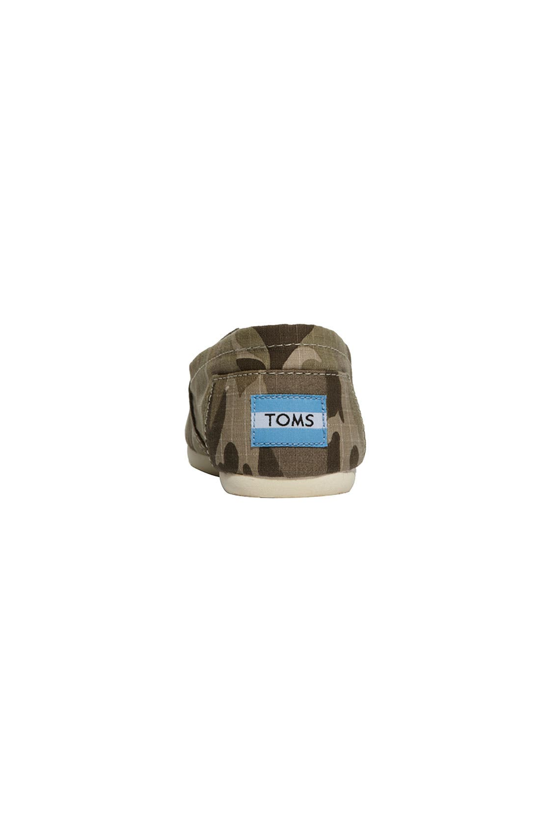 Alternate Image 4  - TOMS 'Classic - Camo' Slip-On (Women) (Nordstrom Exclusive)