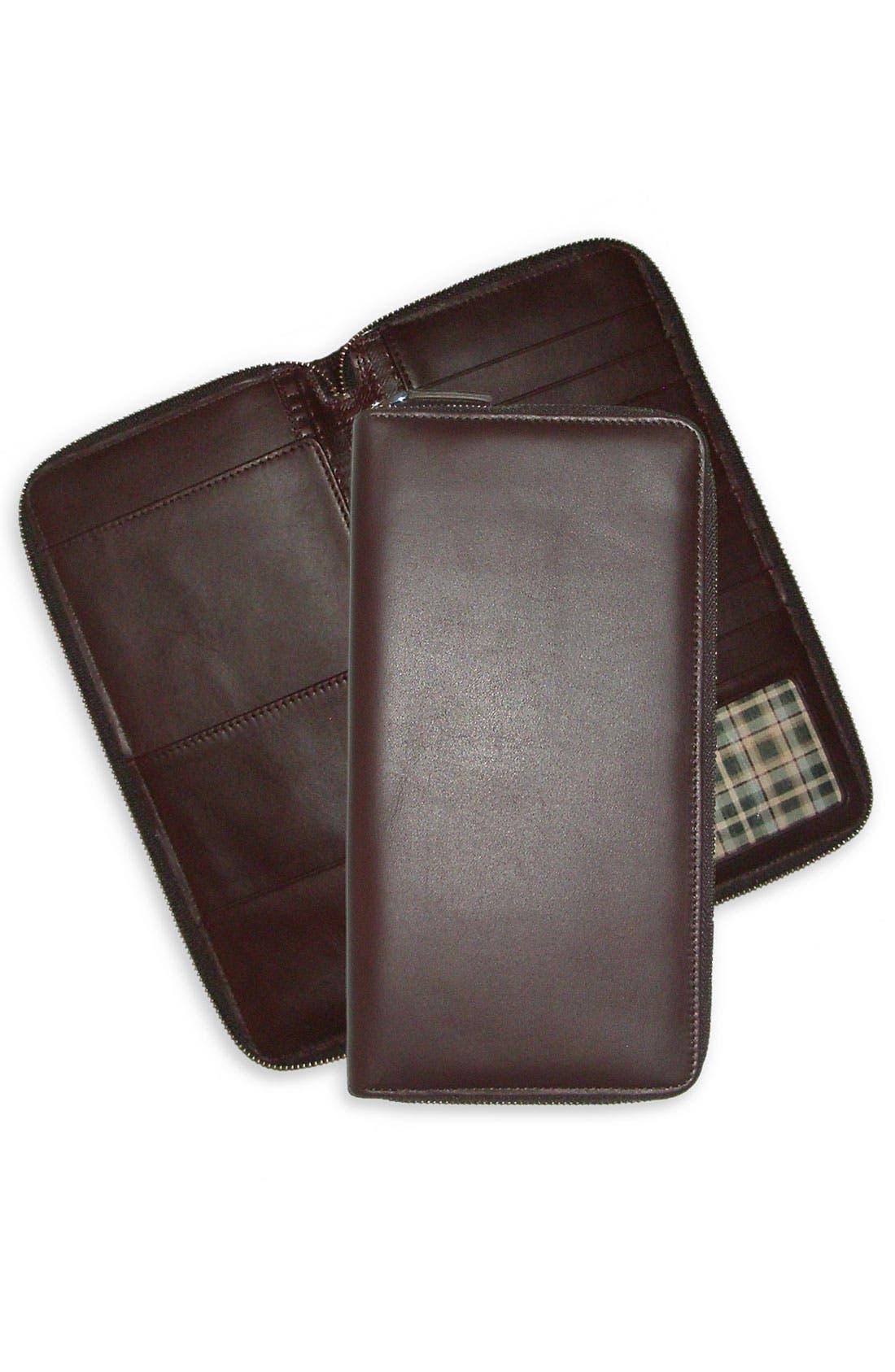 Main Image - Boconi Leather Traveler Wallet