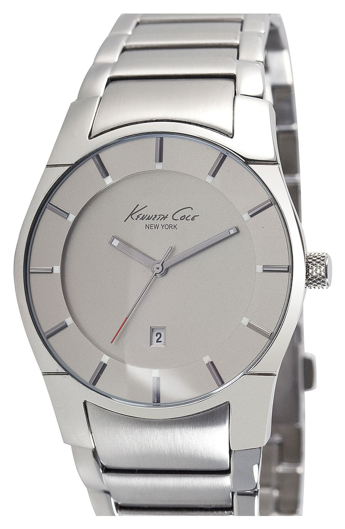 Main Image - Kenneth Cole New York Round Bracelet Watch