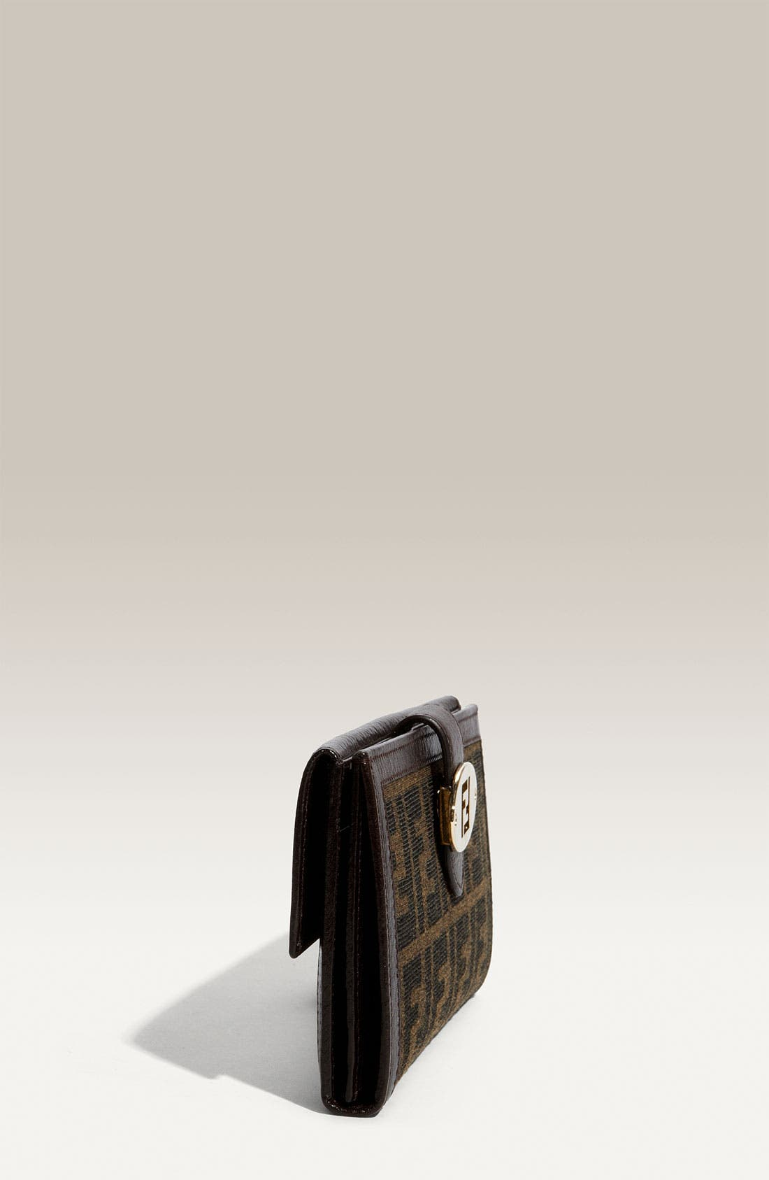 Alternate Image 2  - Fendi 'Zucca' Checkbook Wallet
