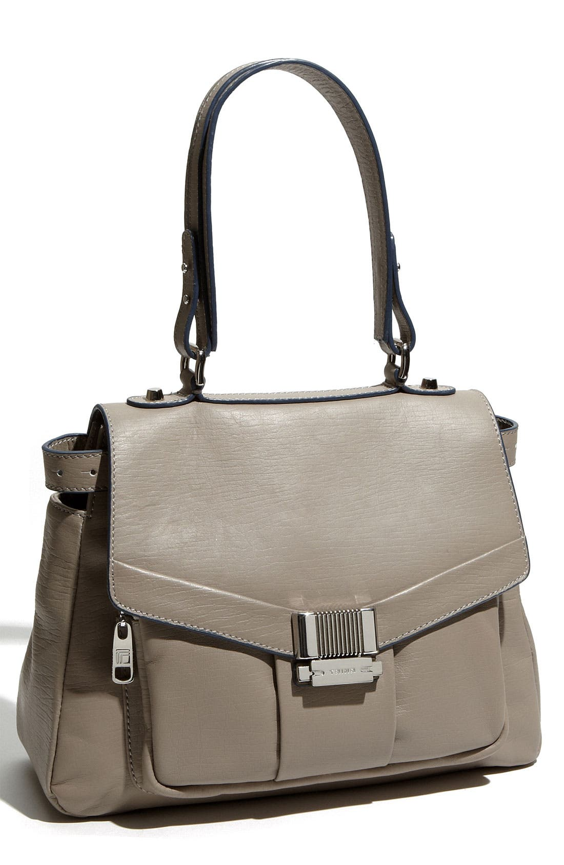 Alternate Image 1 Selected - Trina 'Lady Catherine' Flap Leather Shoulder Bag