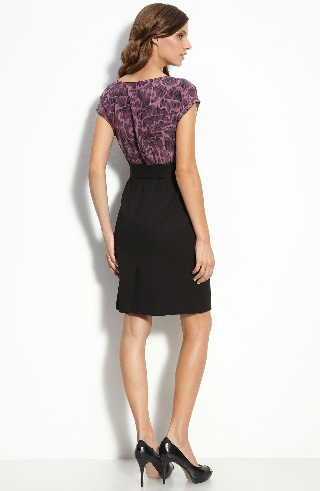 Alternate Image 2  - Classiques Entier® Mock Two Piece Dress