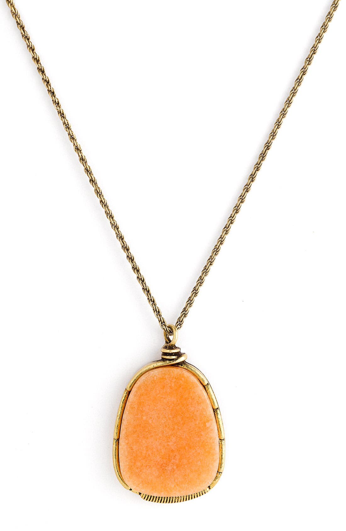 Alternate Image 1 Selected - Stephan & Co. Large Stone Pendant