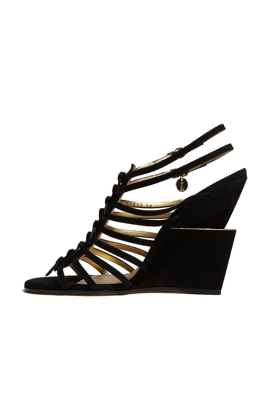 Alternate Image 2  - Yves Saint Laurent 'Trybal' Wedge Sandal