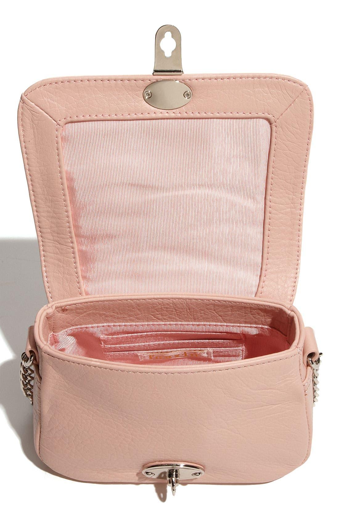 Alternate Image 3  - Franchi Leather Flap Crossbody Bag