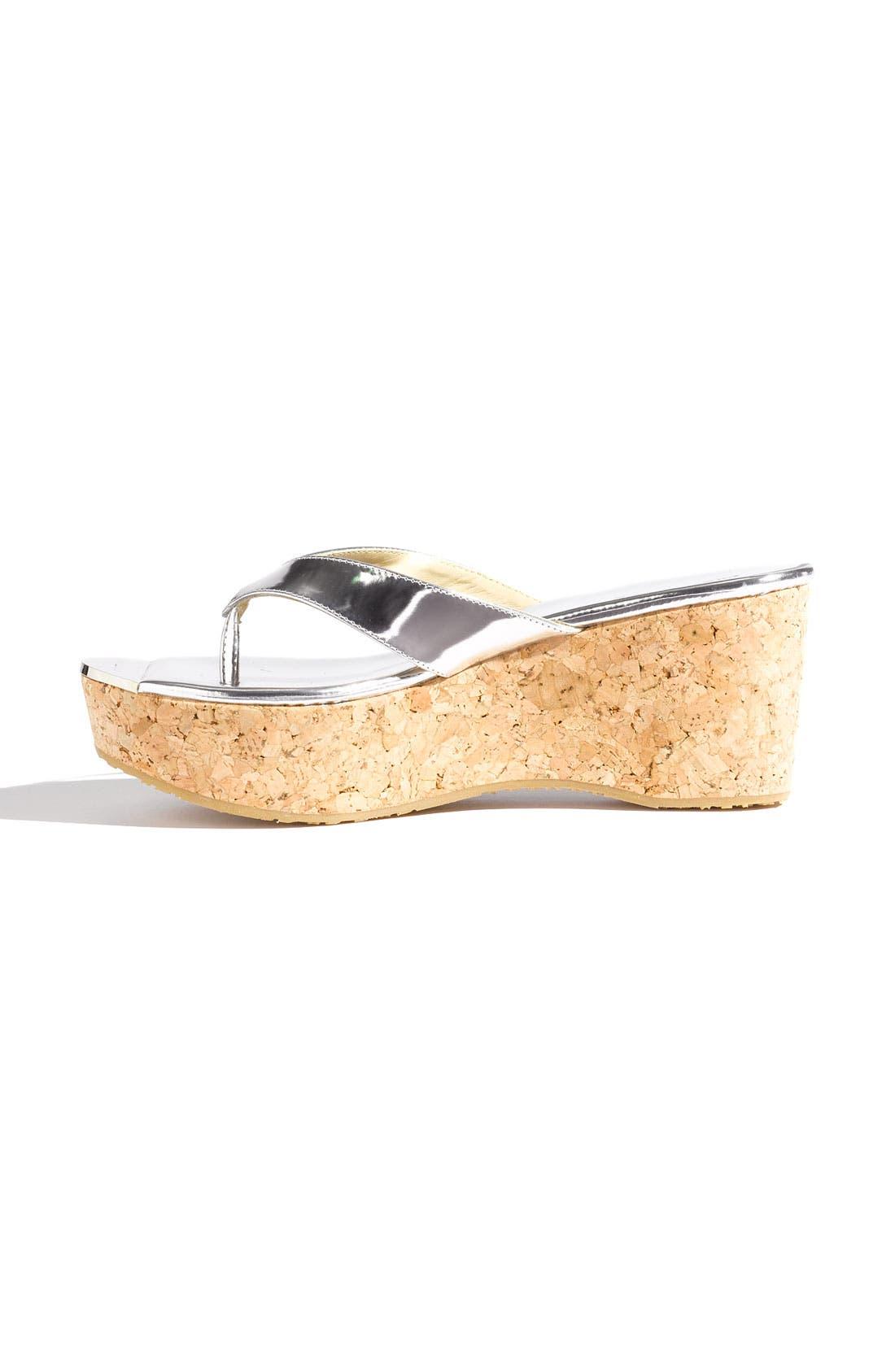 Alternate Image 3  - Jimmy Choo 'Pathos Pat' Cork Wedge Sandal