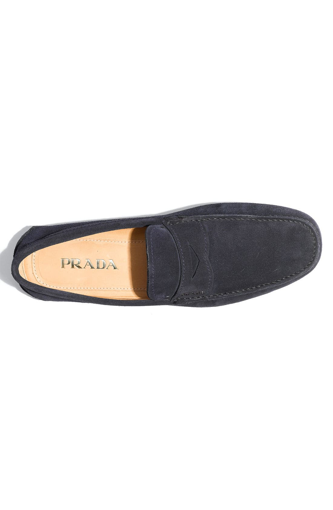 Alternate Image 3  - Prada Suede Penny Driving Shoe (Men)