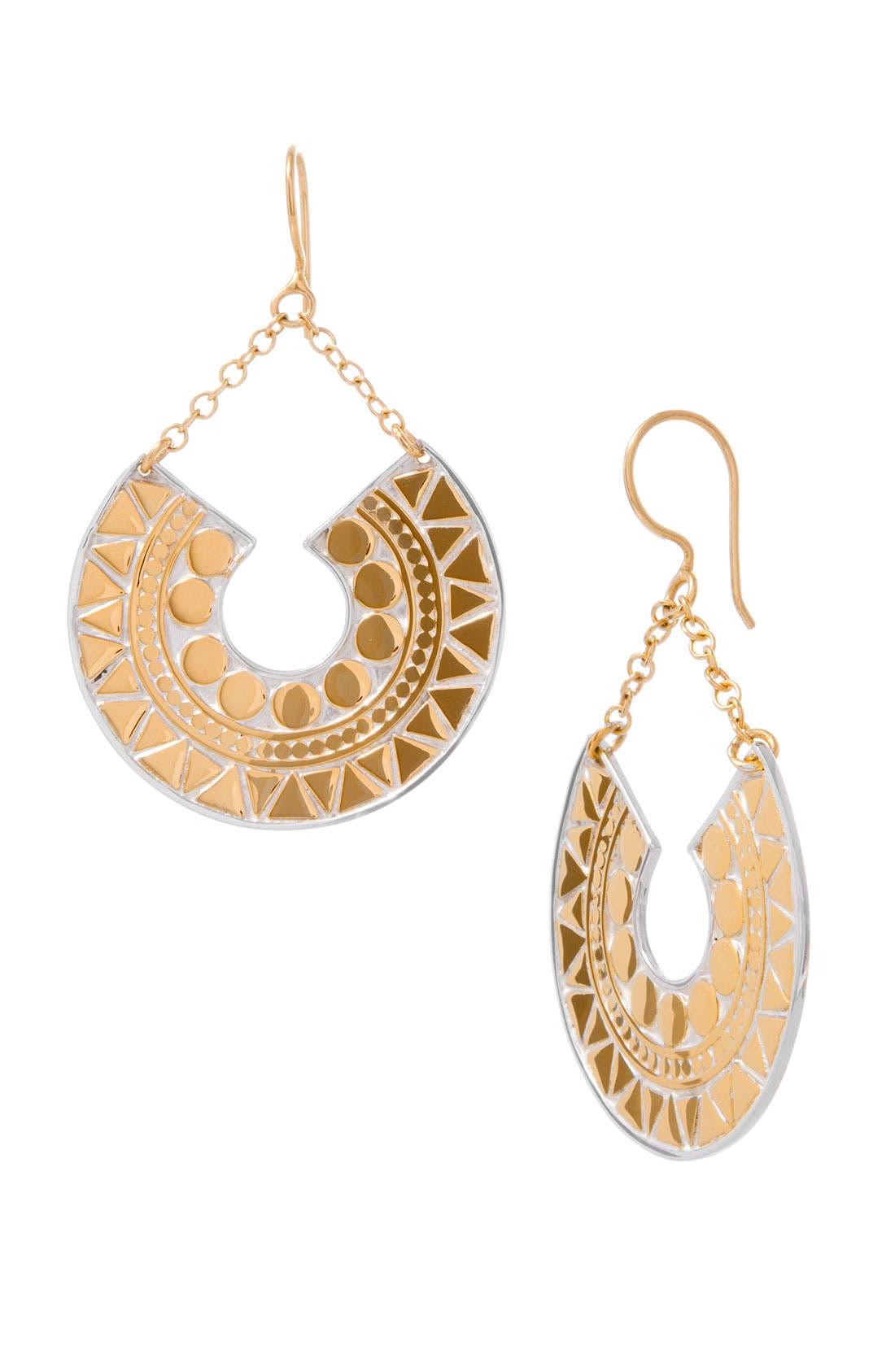 Alternate Image 1 Selected - Anna Beck 'Papua' Half Moon Mosaic Earrings