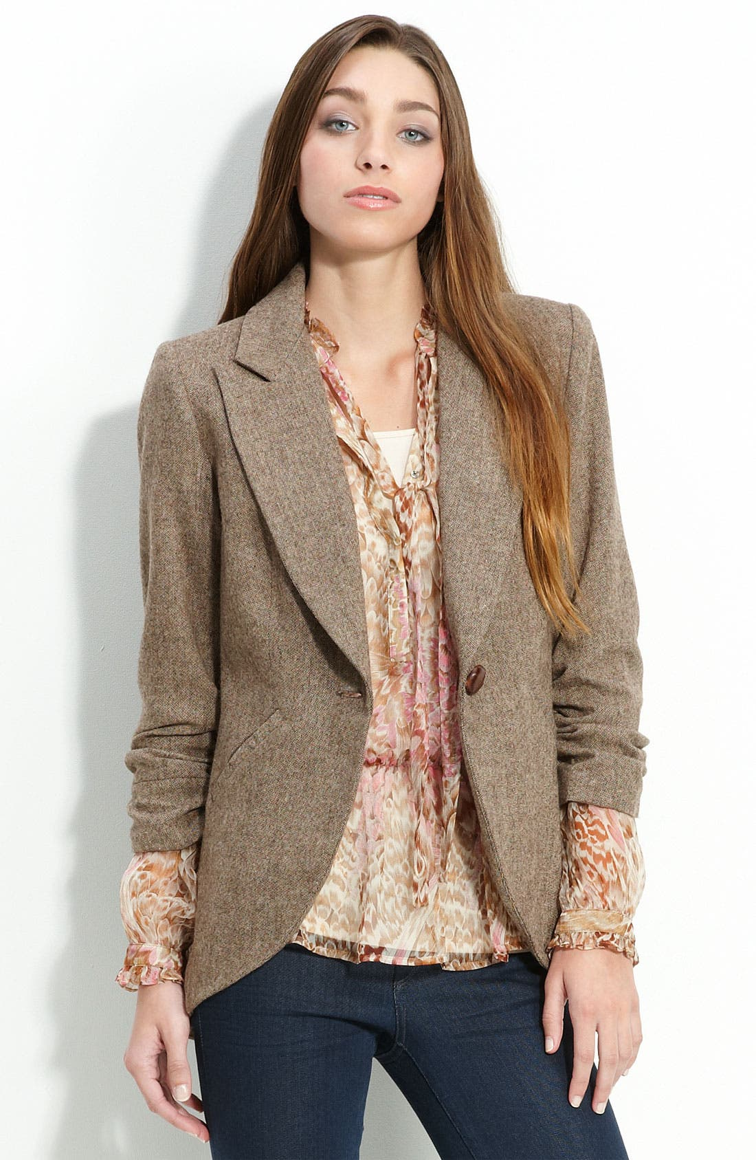 Alternate Image 1 Selected - Gibson Tweed Riding Jacket