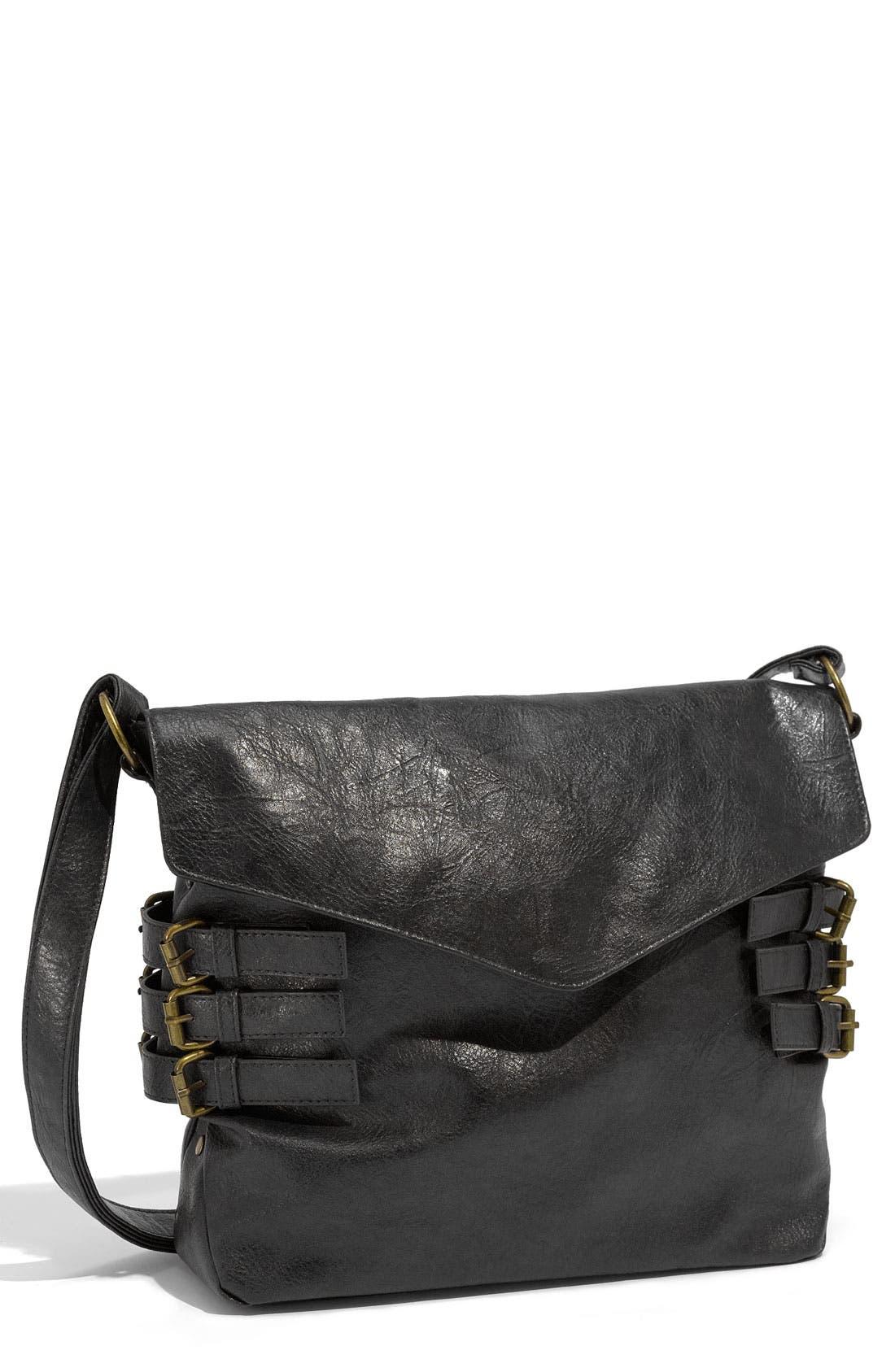 Alternate Image 1 Selected - Lulu Buckled Envelope Bag