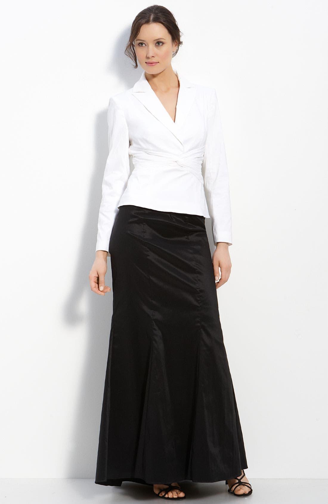Alternate Image 3  - Adrianna Papell Taffeta Skirt
