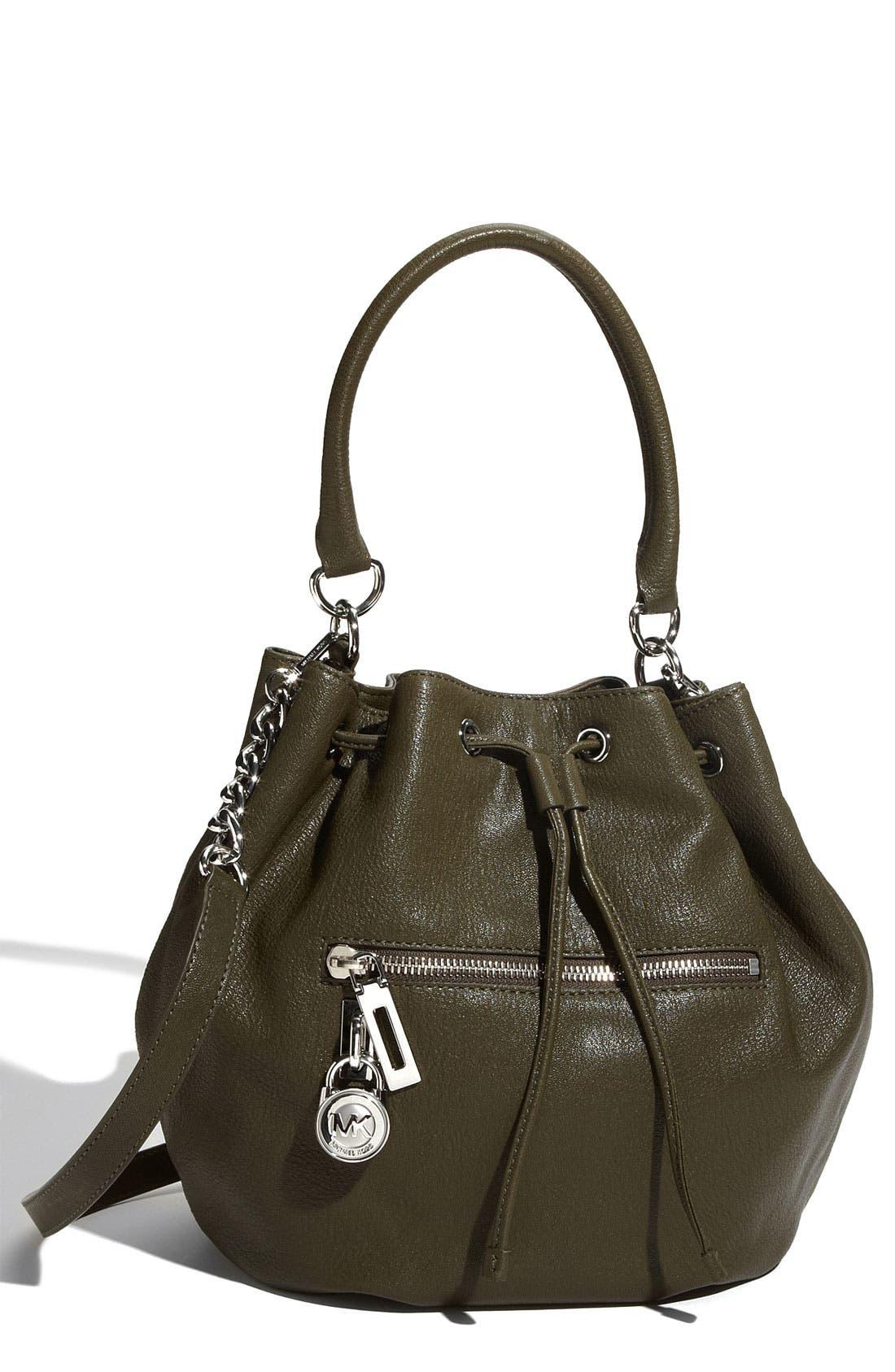 Alternate Image 1 Selected - MICHAEL Michael Kors 'Knox - Large' Drawstring Shoulder Bag