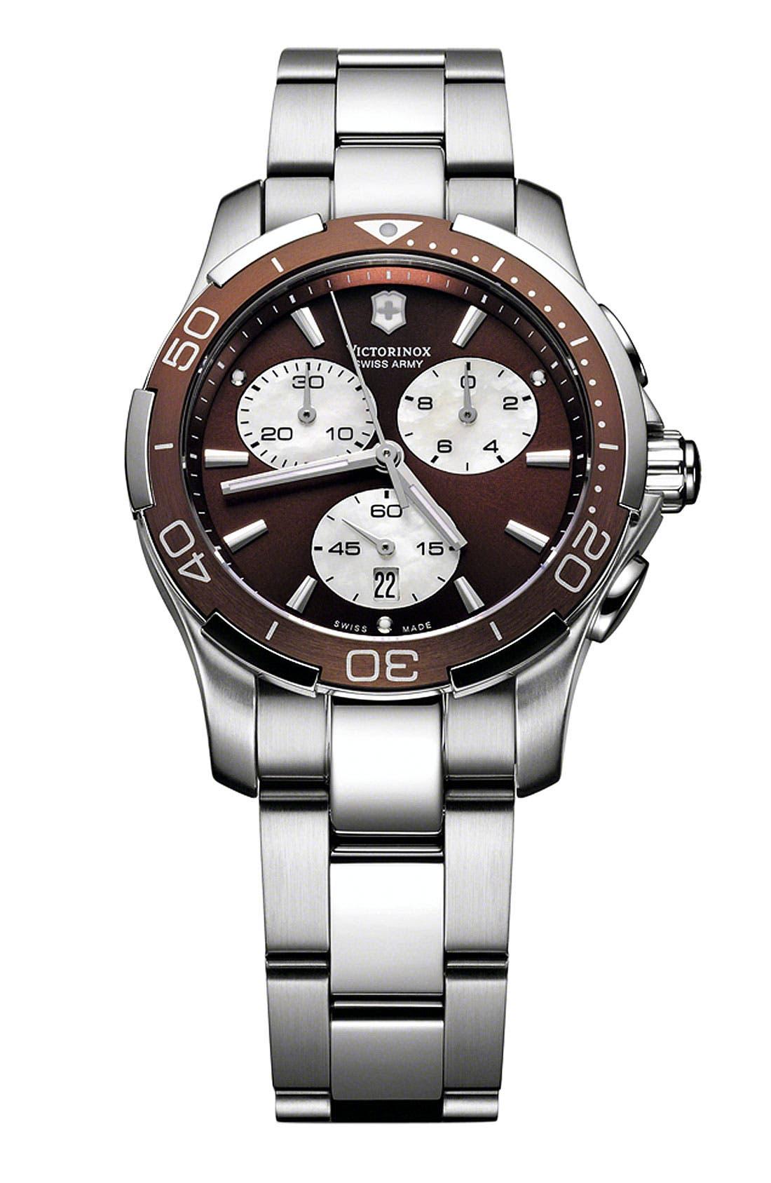 Alternate Image 1 Selected - Victorinox Swiss Army® 'Alliance Sport' Bracelet Watch