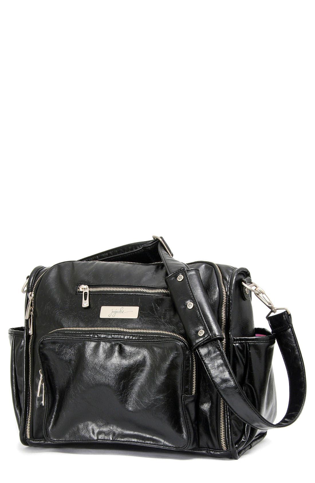 Main Image - Ju-Ju-Be 'Be Fabulous' Earth Leather™ Faux Leather Diaper Bag