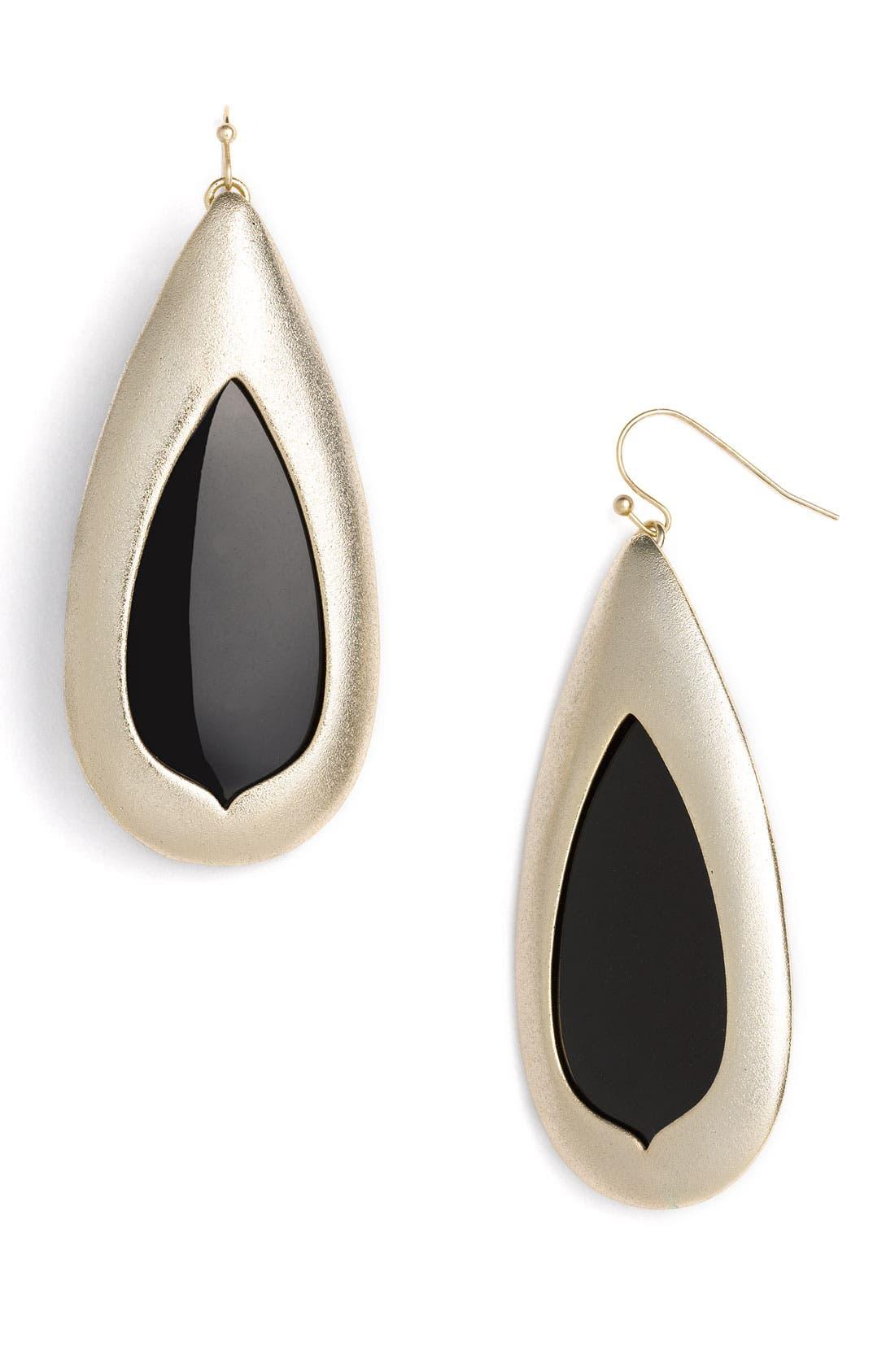 Alternate Image 1 Selected - Kendra Scott 'Wren' Teardrop Statement Earrings