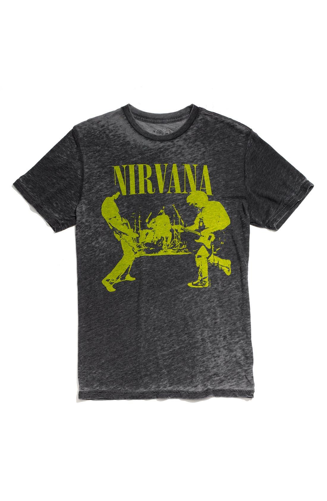 Main Image - Chaser 'Nirvana' Trim Fit Crewneck T-Shirt (Men)
