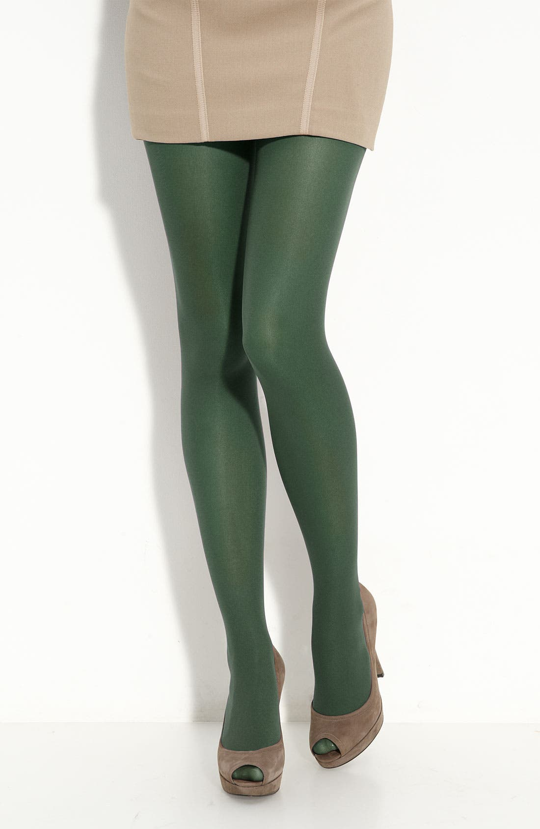 Alternate Image 1 Selected - Nordstrom Opaque Control Top Tights