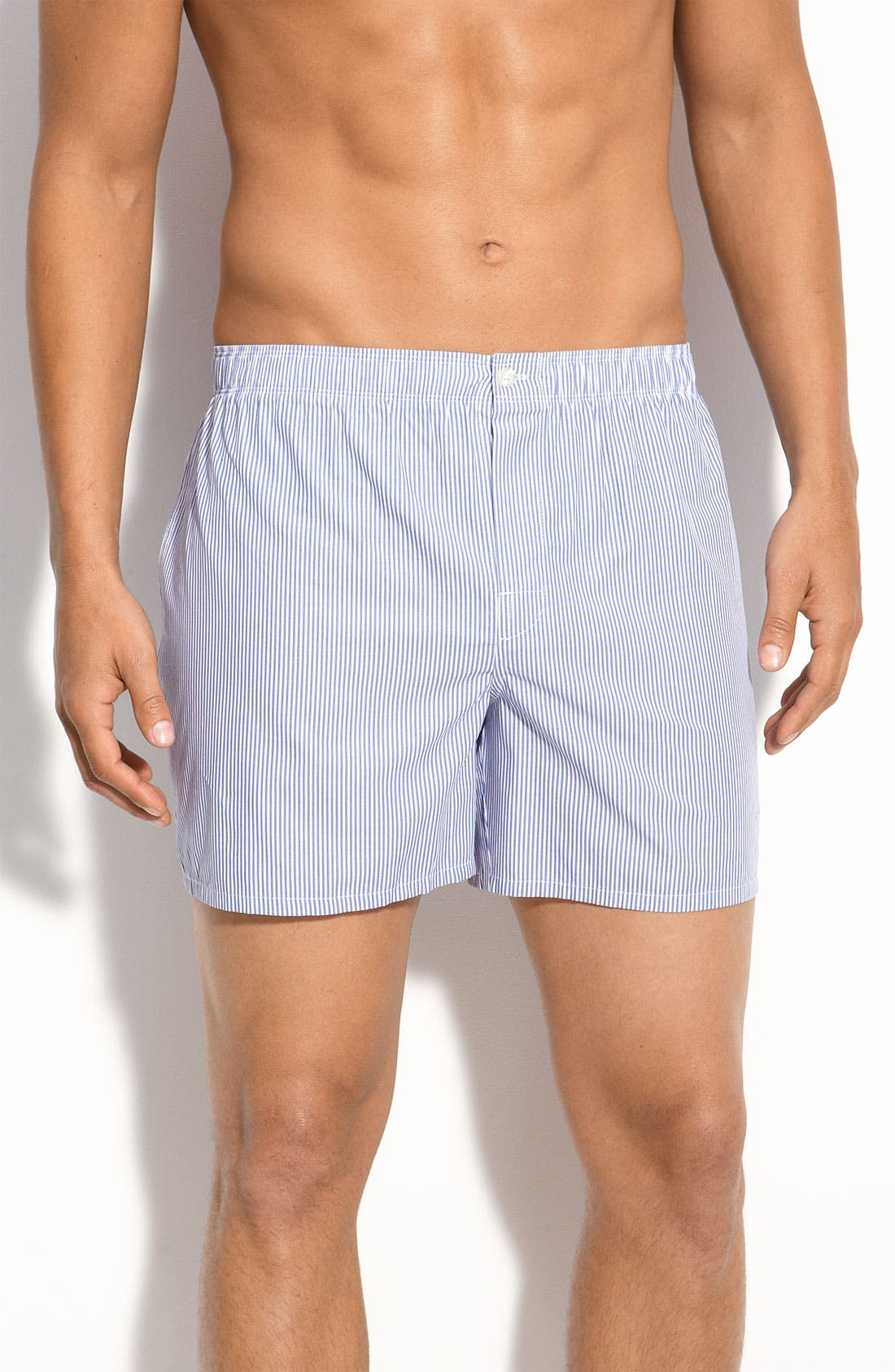 Alternate Image 1 Selected - Nordstrom Trim Fit Cotton Boxers