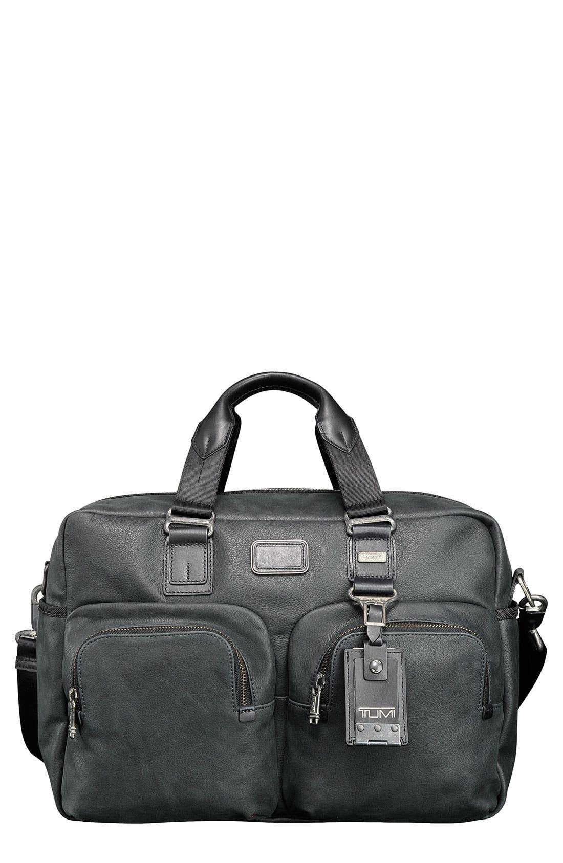 Alternate Image 1 Selected - Tumi 'Alpha Bravo - Everett' Essential Leather Tote