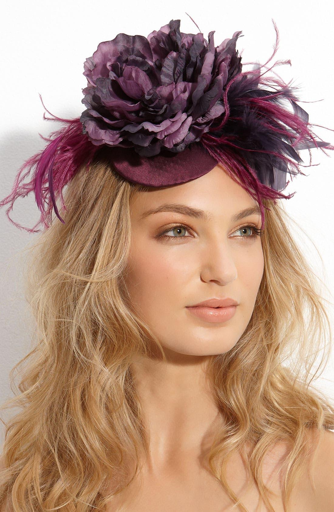 Alternate Image 1 Selected - Cara Accessories 'Frivolous' Fascinator Hair Clip