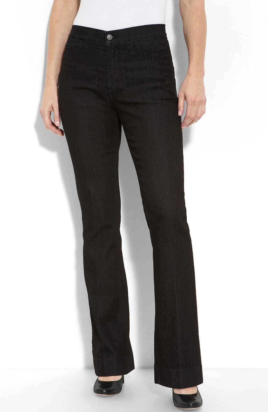 Alternate Image 1 Selected - NYDJ 'Michelle' Trouser Jeans (Petite)