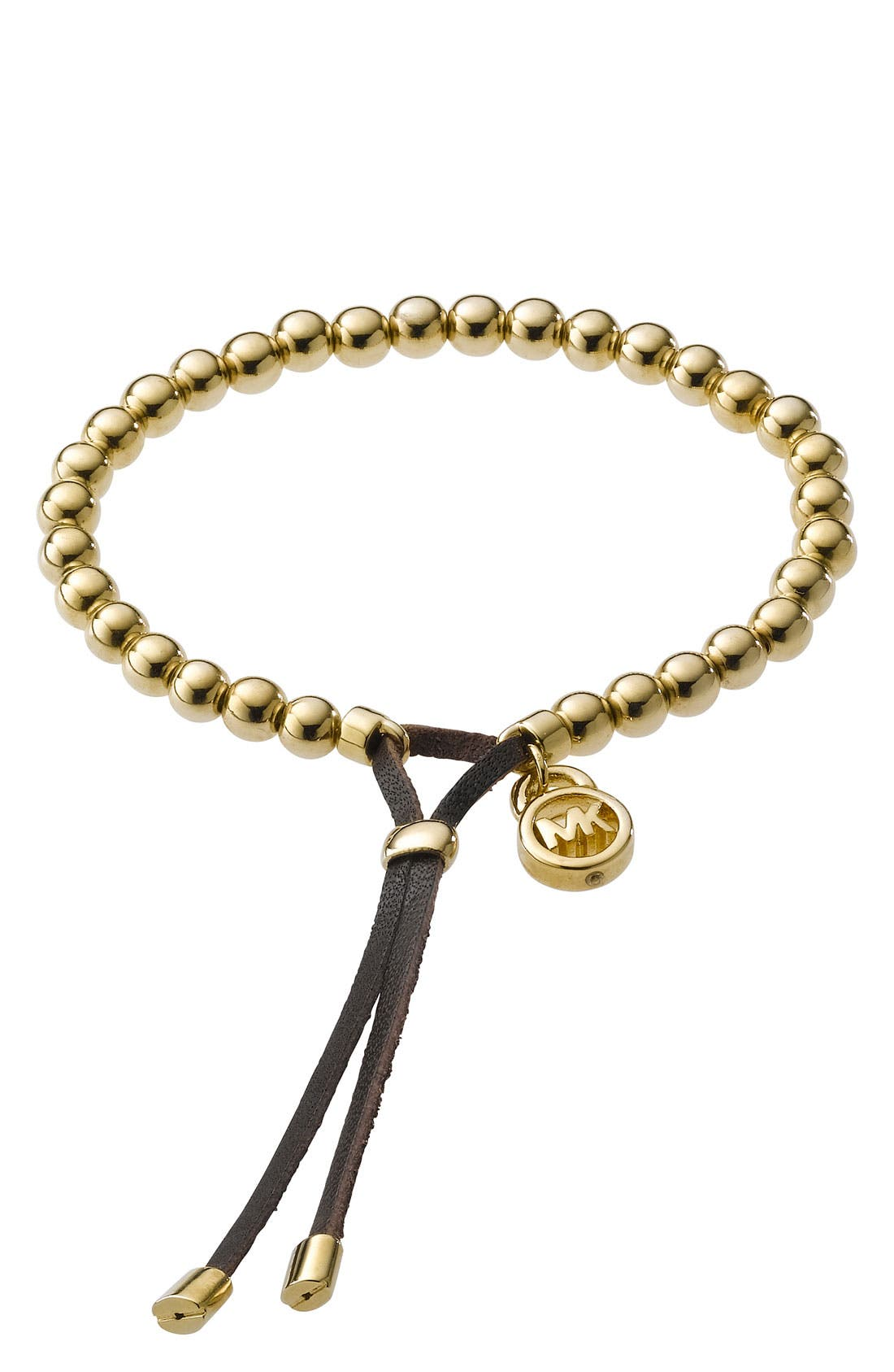 Alternate Image 1 Selected - Michael Kors Beaded Stretch Bracelet