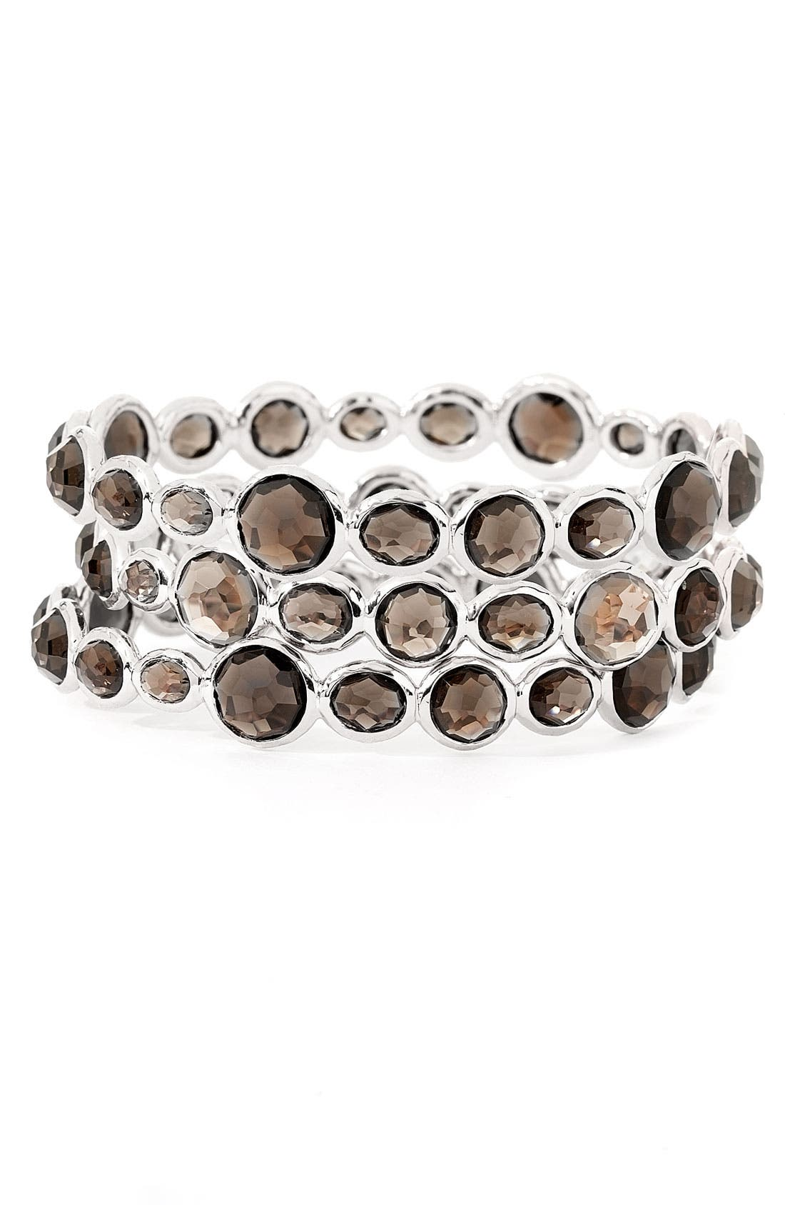 Alternate Image 1 Selected - Ippolita 'Rock Candy Mini Gelato' Smoky Quartz Bangle