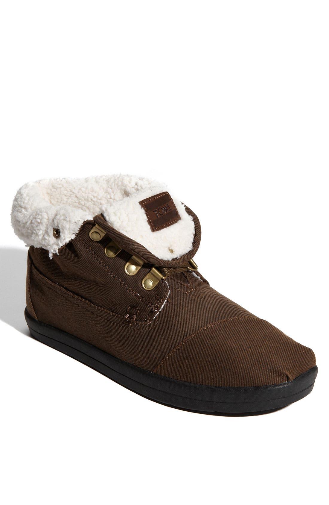 Alternate Image 1 Selected - TOMS 'Highlands' Fleece Boot (Men)