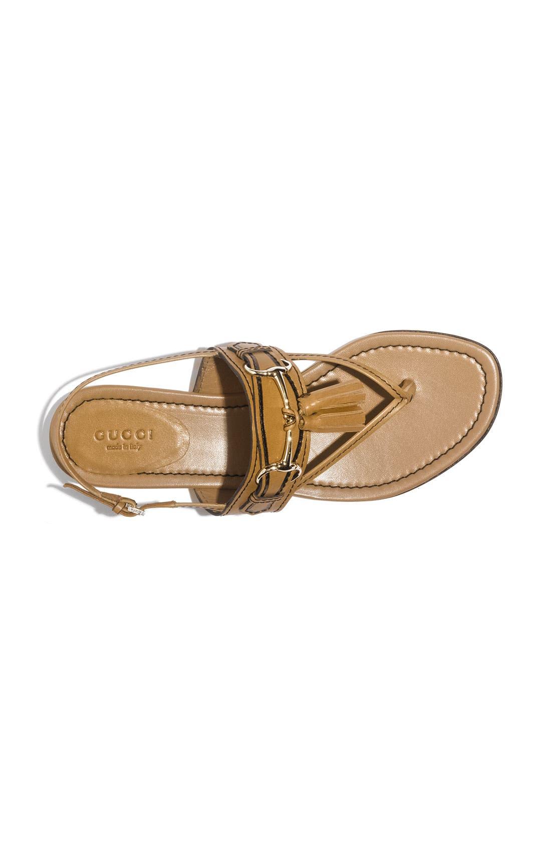 Alternate Image 3  - Gucci 'Emily' Tassel Sandal