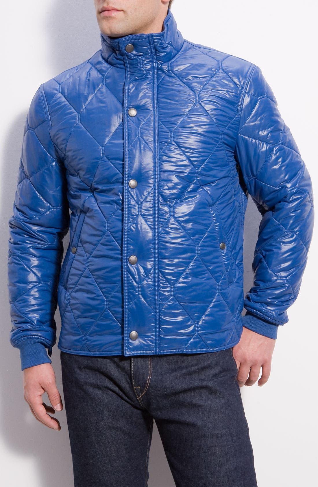 Alternate Image 2  - Burberry Brit Layered Jacket