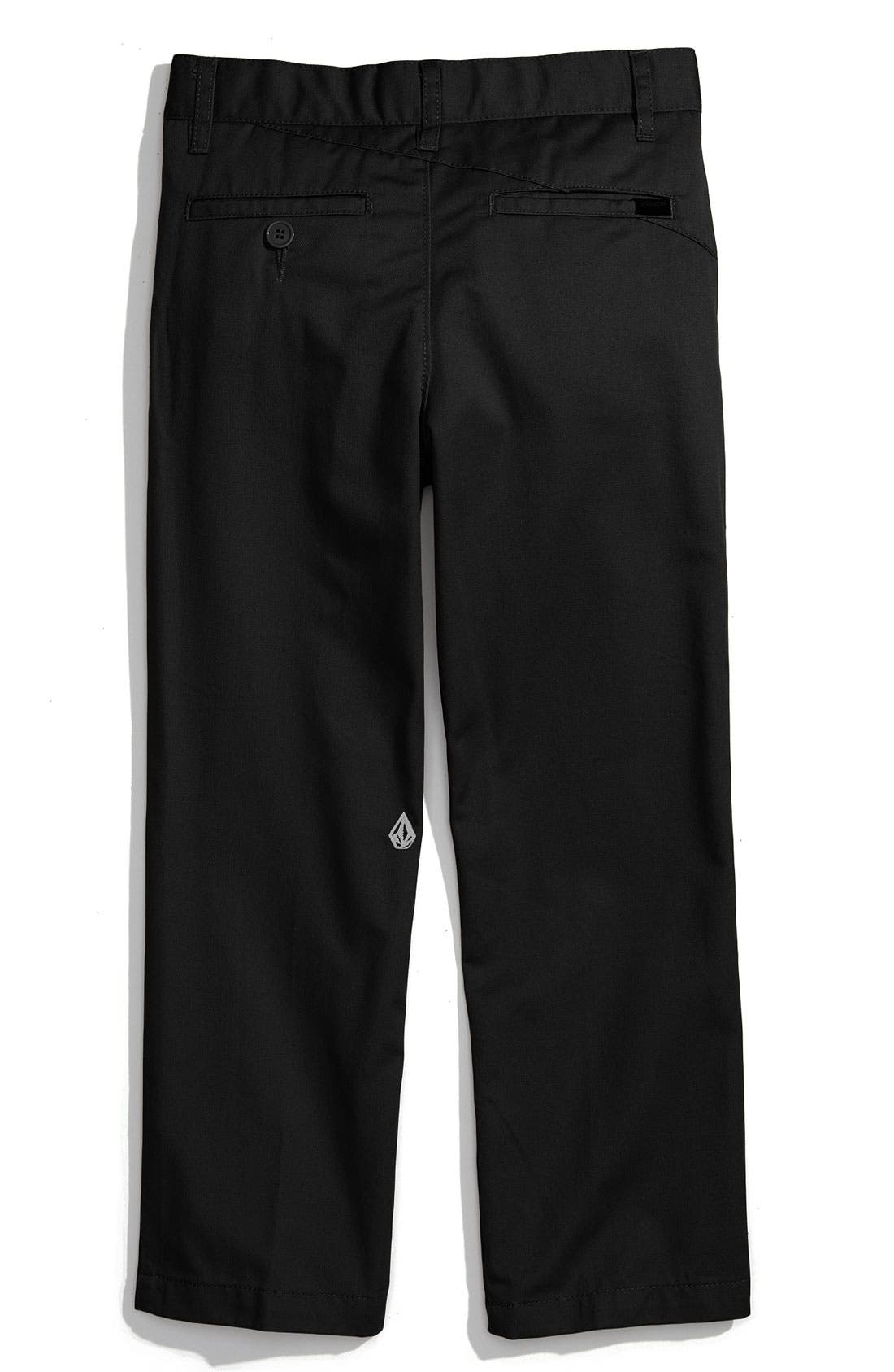 Alternate Image 2  - Volcom 'Modern' Chinos (Little Boys)