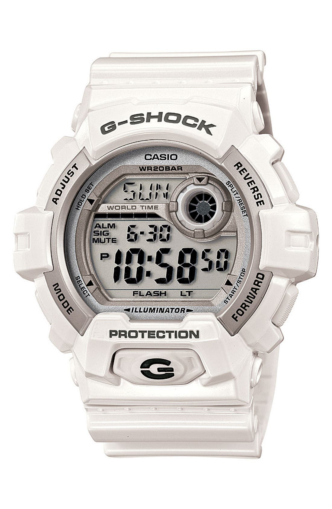 Main Image - G-Shock 'X-Large' Digital Watch, 55mm x 52mm