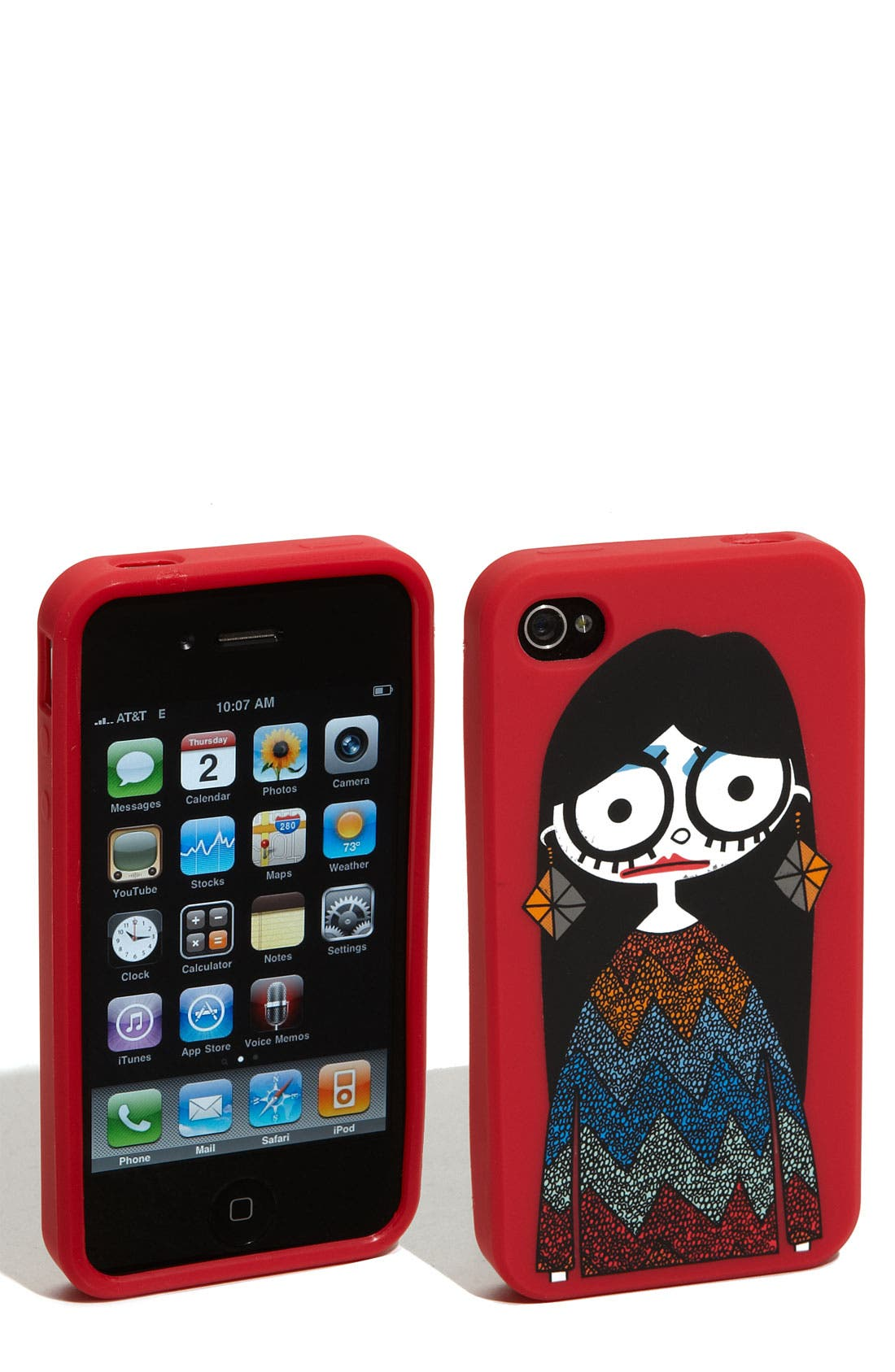Alternate Image 1 Selected - MARC BY MARC JACOBS 'Miss Marc' iPhone 4 & 4S Cover