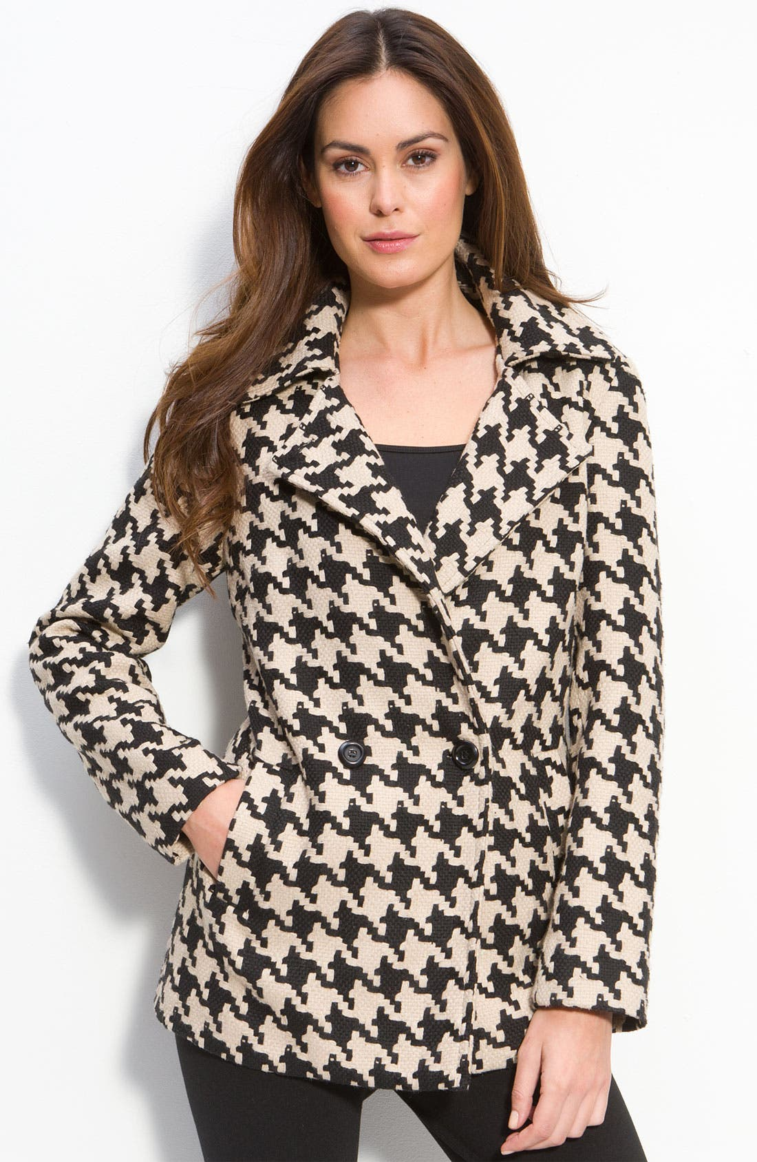 Alternate Image 1 Selected - Mac & Jac Houndstooth Check Jacket