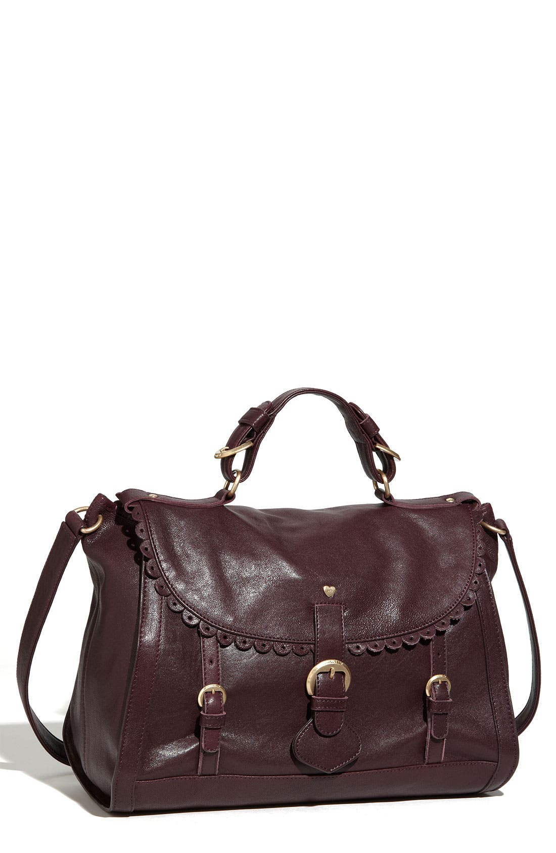 Alternate Image 1 Selected - See By Chloé 'Poya Vintage - Large' Leather Satchel