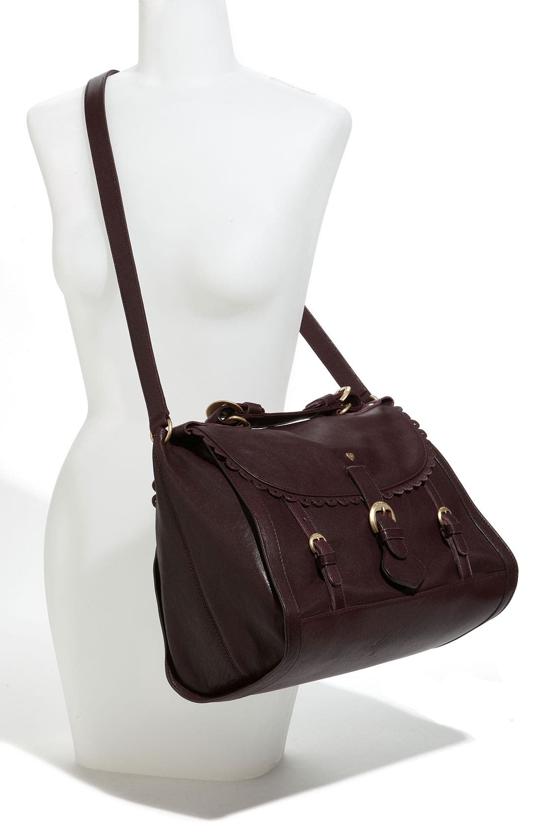 Alternate Image 2  - See By Chloé 'Poya Vintage - Large' Leather Satchel